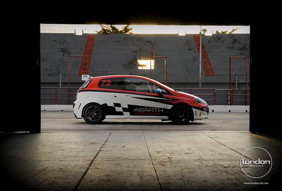 London dc publicidad abarth competizione plotter vehicular for Diseno de interiores carrera gratuita